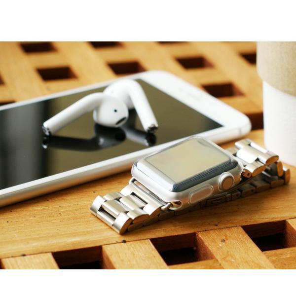 アップルウォッチ カバー ケース 液晶 保護 Apple Watch フル カバー Series 4 3 2 1 保護ケース 44 40 42 38 mm  TPU 薄型|smaif|04