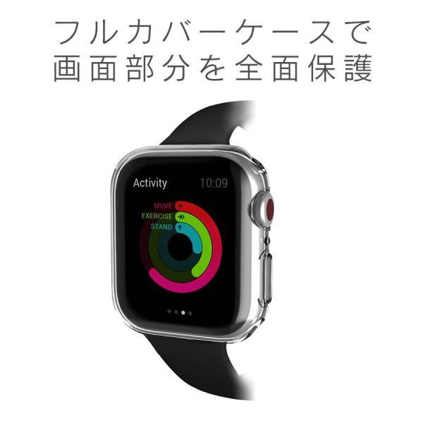 アップルウォッチ カバー ケース 液晶 保護 Apple Watch フル カバー Series 4 3 2 1 保護ケース 44 40 42 38 mm  TPU 薄型|smaif|06