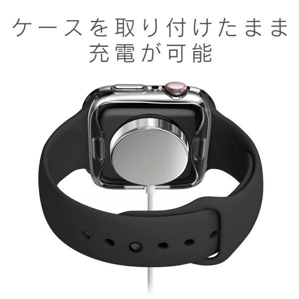 アップルウォッチ カバー ケース 液晶 保護 Apple Watch フル カバー Series 4 3 2 1 保護ケース 44 40 42 38 mm  TPU 薄型|smaif|08