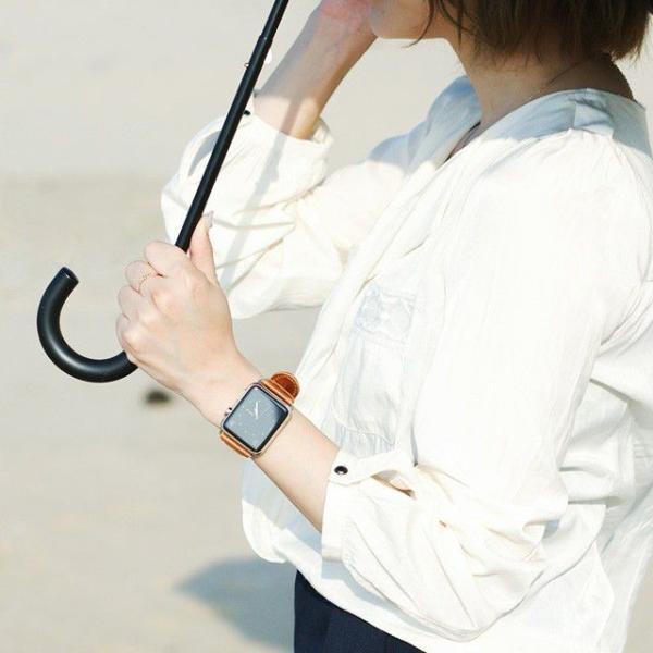 アップルウォッチ バンド ベルト 革 Apple Watch 4 3 2 1 本革 38 40 42 44 mm 牛革 おしゃれ 送料無料|smaif|11