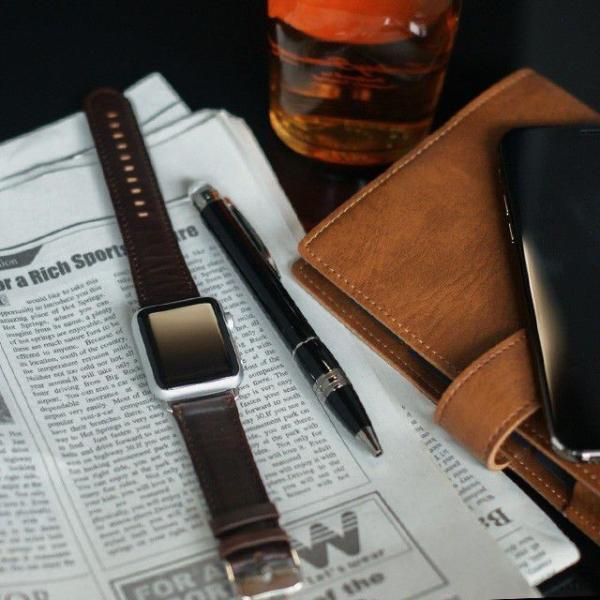 アップルウォッチ バンド ベルト 革 Apple Watch 4 3 2 1 本革 38 40 42 44 mm 牛革 おしゃれ 送料無料|smaif|13