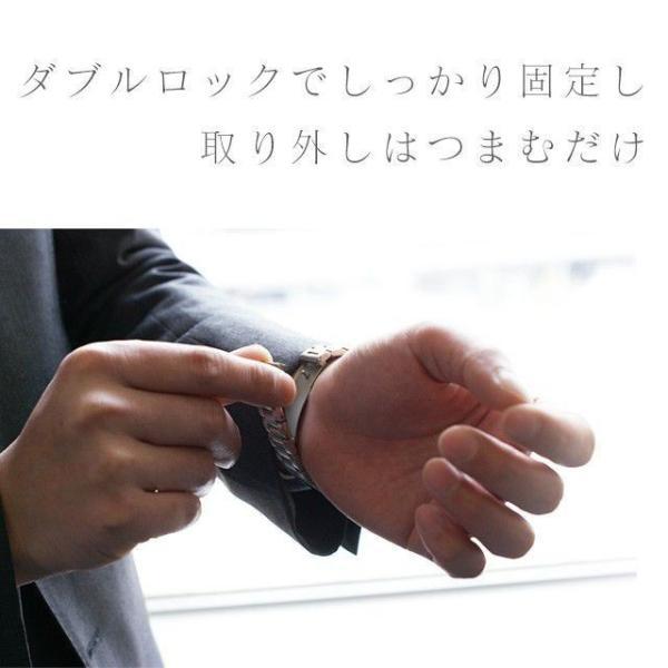 Apple Watch バンド ベルト アップルウォッチ ステンレス 38 40 42 44 mm Series シリーズ 4 3 2 1 錆びにくい 交換 ウォッチバンド 調整器具付 smaif 11