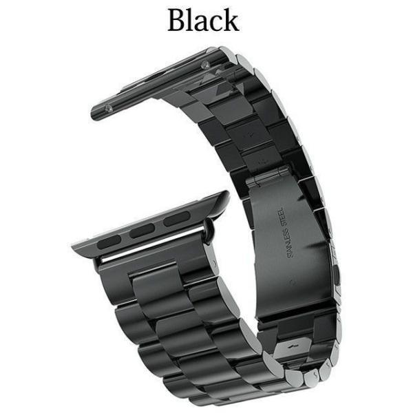 Apple Watch バンド ベルト アップルウォッチ ステンレス 38 40 42 44 mm Series シリーズ 4 3 2 1 錆びにくい 交換 ウォッチバンド 調整器具付 smaif 16