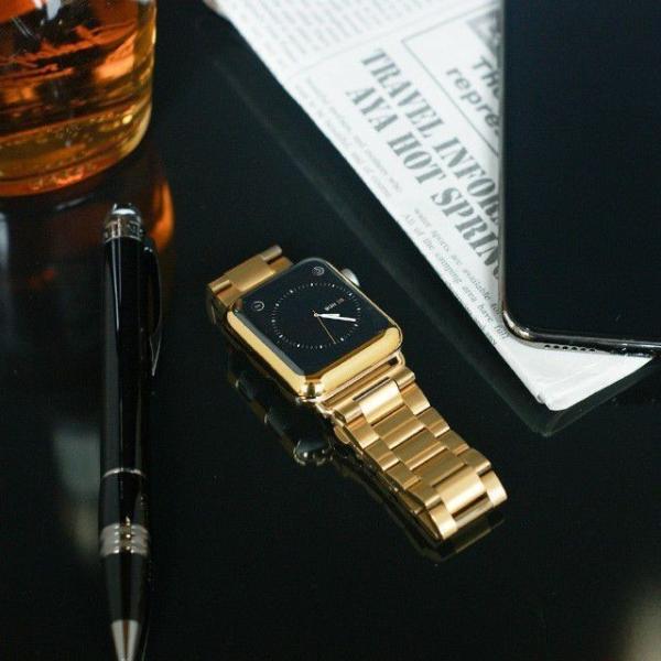 Apple Watch バンド ベルト アップルウォッチ ステンレス 38 40 42 44 mm Series シリーズ 4 3 2 1 錆びにくい 交換 ウォッチバンド 調整器具付 smaif 09