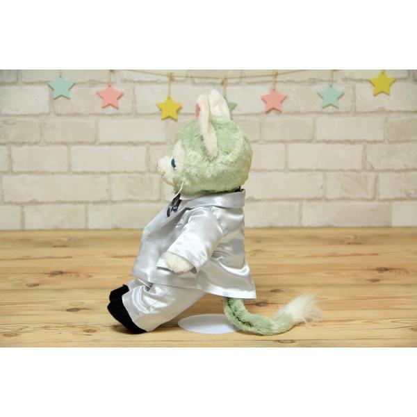 ジェラトーニ(S)用のタキシード手作りウェルカムドール衣装キット(グレー)|small-h|03