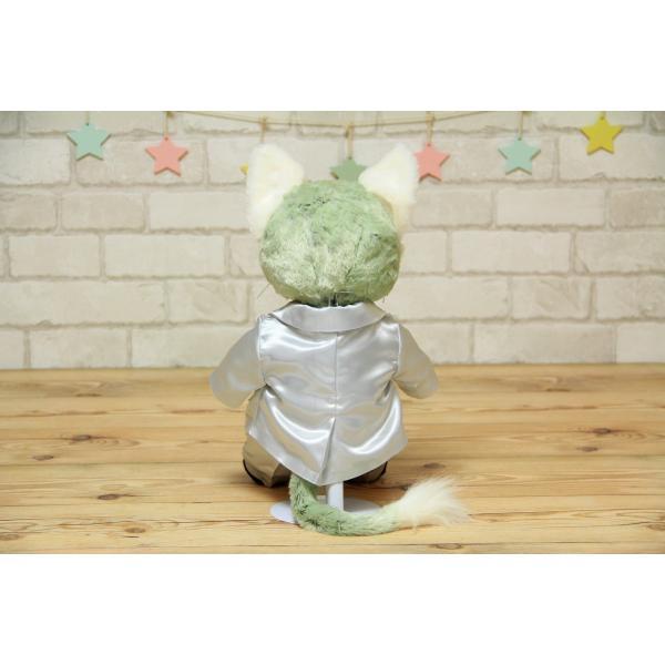 ジェラトーニ(S)用のタキシード手作りウェルカムドール衣装キット(グレー)|small-h|05
