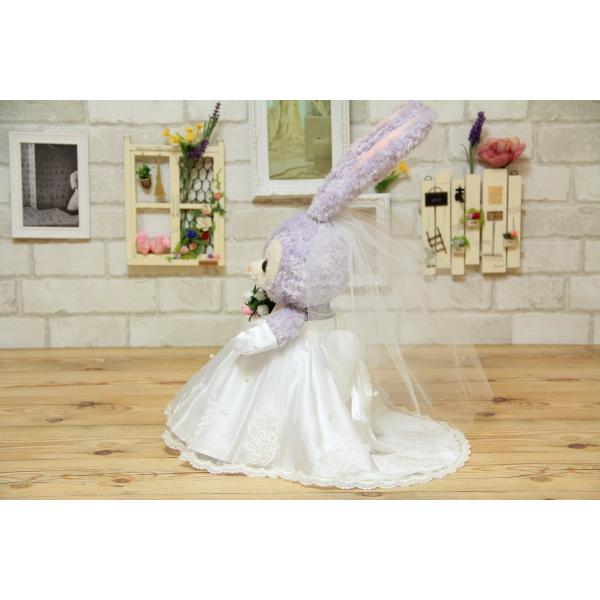 ■代引き不可■ ステラルー(S)用のウェディングドレス手作りウェルカムドール衣装キット|small-h|04