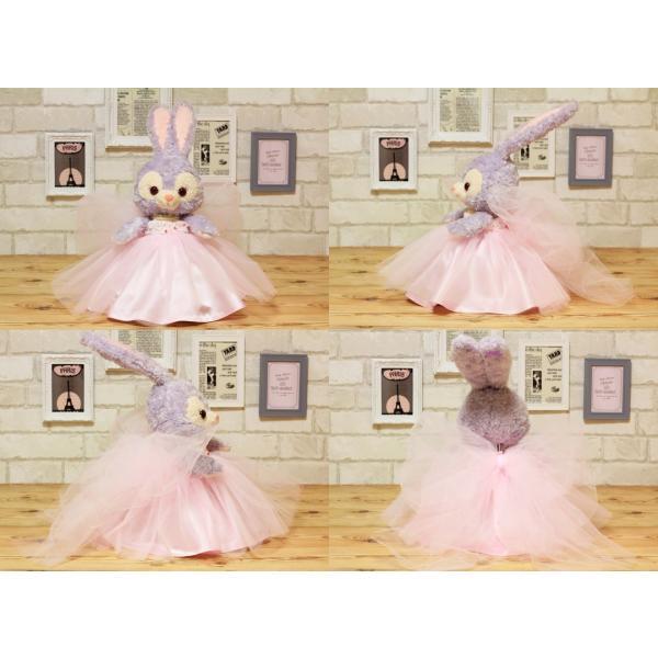 ステラルー(S)用のカラーウェディングドレス手作りウェルカムドール衣装キット small-h 02