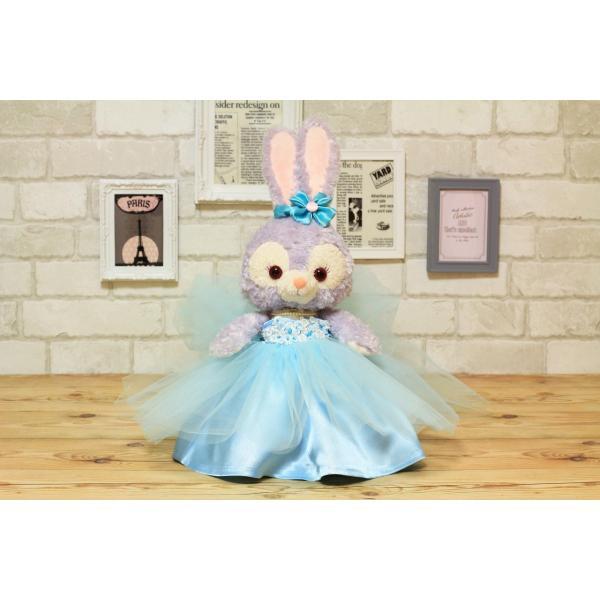 ステラルー(S)用のカラーウェディングドレス手作りウェルカムドール衣装キット small-h 06