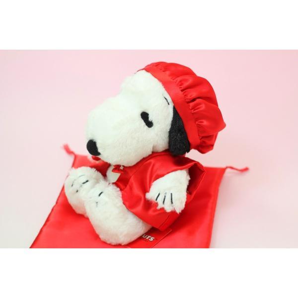 スヌーピーぬいぐるみ付き 還暦祝い用赤ちゃんちゃんこ|small-h|05