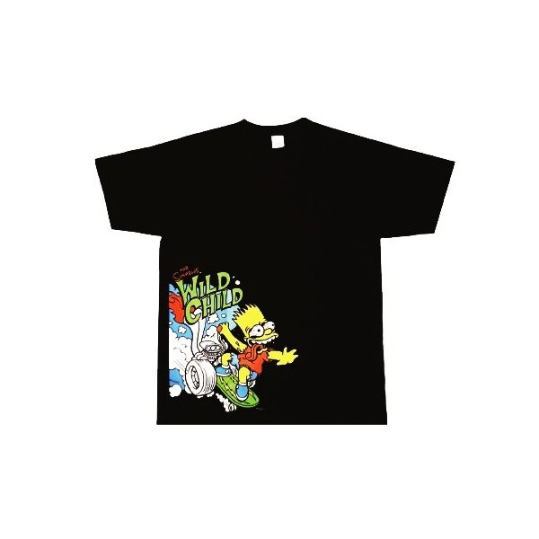 61a68671e2 シンプソンズTシャツ WILD CHILD黒(Simpsons Tshirt) /【Buyee】