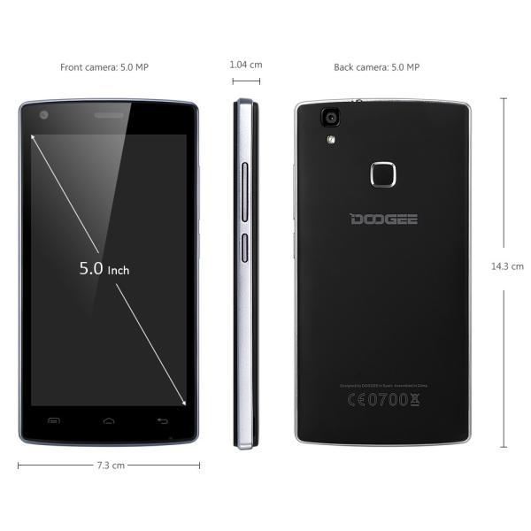 SIMフリー格安5インチHDスマホ DOOGEE X5 MAX Pro LTE対応|smart-gadgets|02