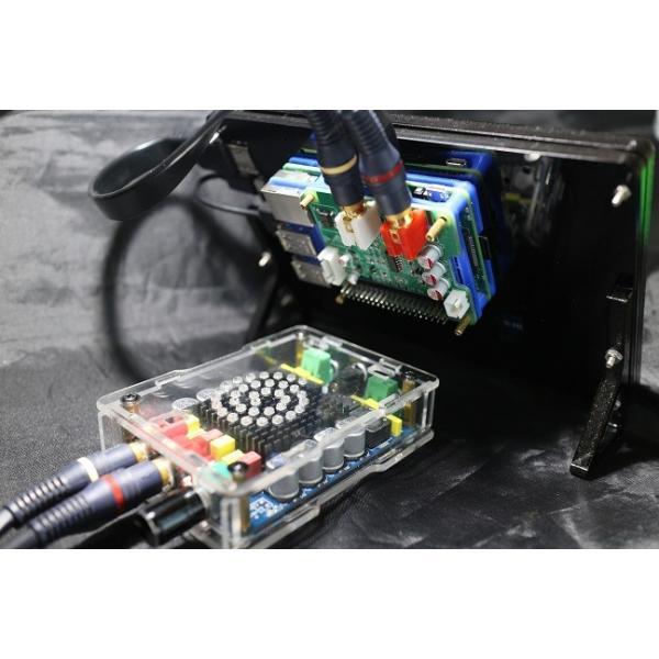 ラズパイ3 Model B+ビルトインの 7インチ ハイレゾ音楽プレーヤ−(Volumio2)|smart-gadgets|02
