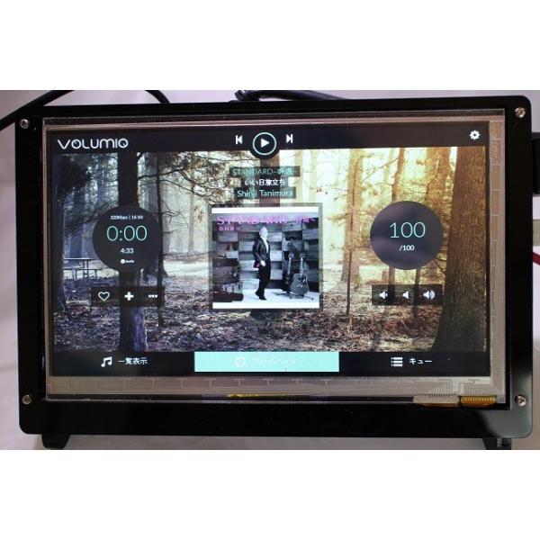ラズパイ3 Model B+ビルトインの 7インチ ハイレゾ音楽プレーヤ−(Volumio2)|smart-gadgets|04