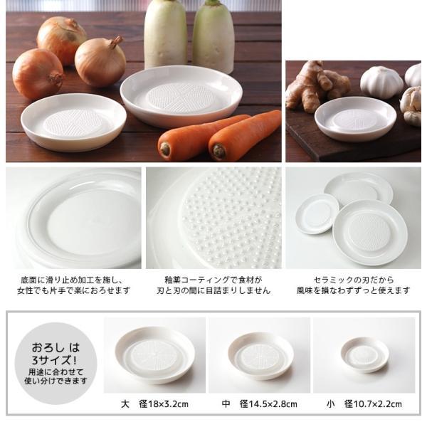 ポーレックスセラミック おろし・中  /在庫有/P2倍 smart-kitchen 02