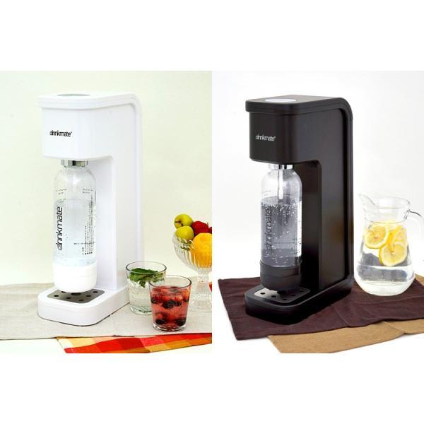 drinkmate マグナムスマート スターターセット 水専用 炭酸水メーカー ドリンクメイト /Lボトル1本特典付  /在庫有/P10倍(GS)|smart-kitchen|04