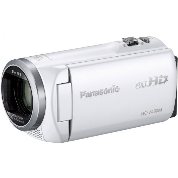 (展示品)パナソニック HC-V480M-W ホワイト|smart1-shop