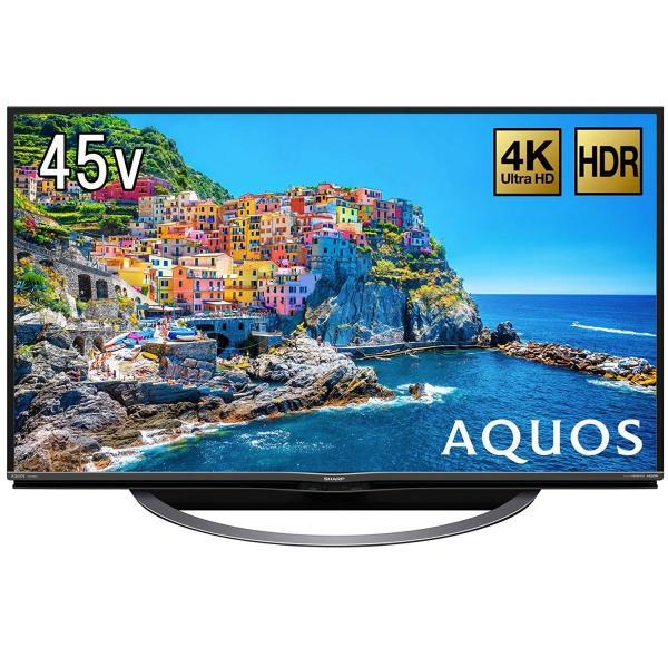 シャープ 45V型 4K対応液晶テレビ AQUOS(アクオス)(android tv)(4Kチューナー別売) 4T-C45AJ1の画像