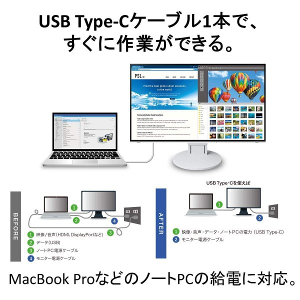 EIZO FlexScan EV2785-WT [27インチ ホワイト] smart1-shop 05