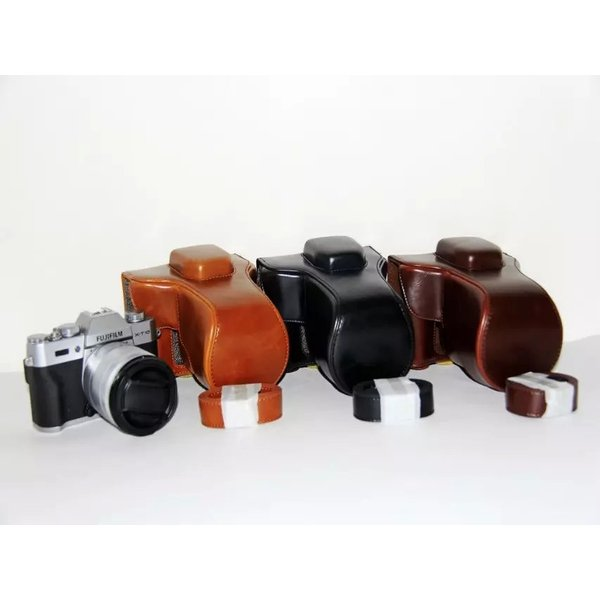 FUJIFILM X-T20 ケース X-T10  カメラケース XT20 XT10 カメラバック バック 富士フイルム カメラ カバー 三脚用ネジ穴装備 ストラップ レンズ 16-50mm対応  送
