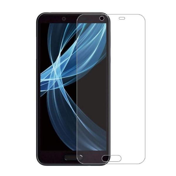 SH-RM11 保護フィルム SHARP AQUOS sense3 Plus  ガラスフィルム sense3Plus  アクオスセンス3プラス 強化ガラス 9Hメール便 送料無料