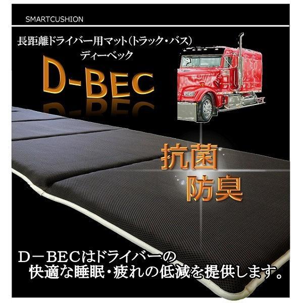 【丸洗いできるドライバー用マット】スマートクッション「D-BEC」ディーベック 衛生的 トラック バス 腰痛 日本製 仮眠|smartcushion