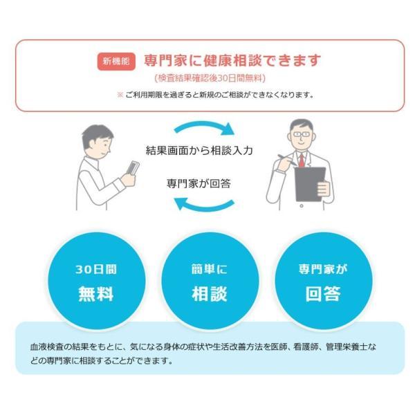 血液検査キット 自宅 糖尿病 血糖 HbA1c ヘモグロビンA1c 生活習慣病 健康チェック スマホdeドック 生化学14項目|smartkensa|05