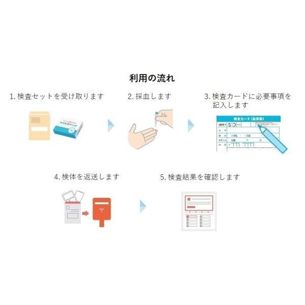 血液検査キット 自宅 糖尿病 血糖 HbA1c ヘモグロビンA1c 生活習慣病 健康チェック スマホdeドック 生化学14項目|smartkensa|08