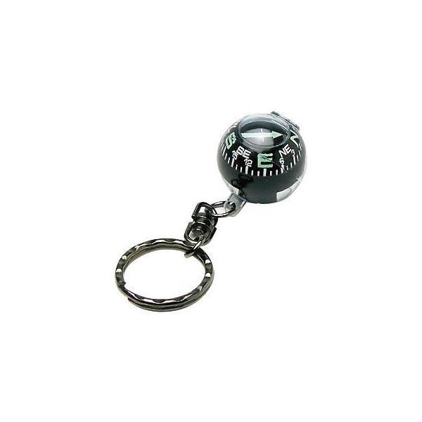 方位磁石 コンパス キーホルダーボールコンパス G-880