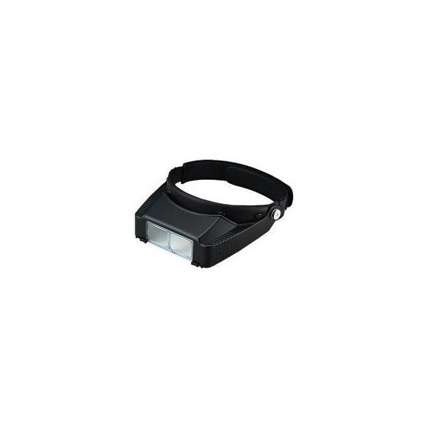【2.3倍・高級白ガラスレンズ】ヘッドルーペ・虫眼鏡 LH-113B 日本製