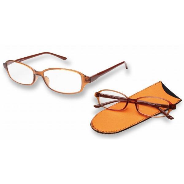 老眼鏡 シニアグラス おしゃれ老眼鏡 超弾性樹脂フレーム スリムデザイン リーディンググラス LT-1502-2