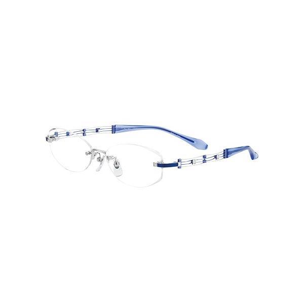 メガネ 眼鏡 めがねフレーム Line Art ラインアート シャルマンレディースメガネフレーム カノンコレクション XL1046-BL