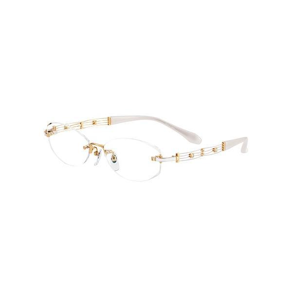 メガネ 眼鏡 めがねフレーム Line Art ラインアート シャルマンレディースメガネフレーム カノンコレクション XL1046-WH