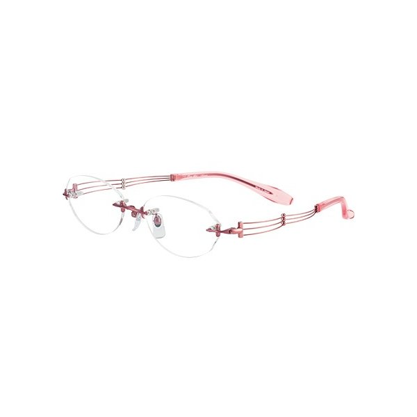 メガネ 眼鏡 めがねフレーム Line Art ラインアート シャルマンレディースメガネフレーム トリオコレクション XL1049-PK