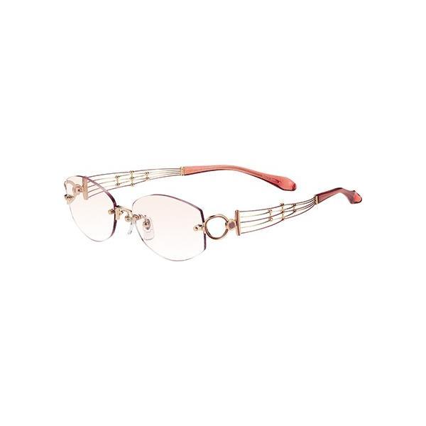 メガネ 眼鏡 めがねフレーム Line Art ラインアート シャルマンレディースメガネフレーム クインテットコレクション XL1407-PE