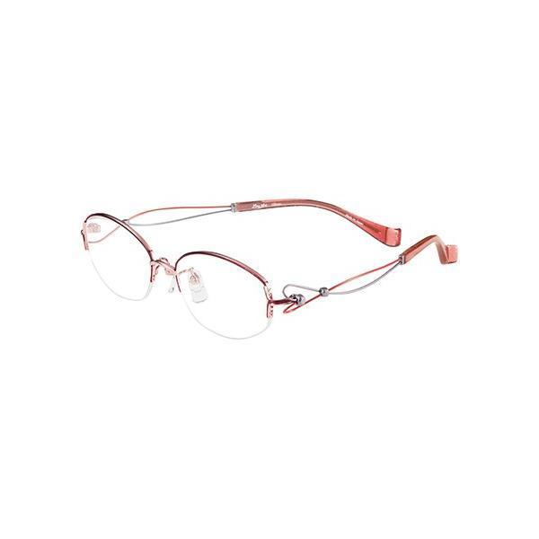 メガネ 眼鏡 めがねフレーム Line Art ラインアート シャルマンレディースメガネフレーム ドルチェコレクション XL1418-RO