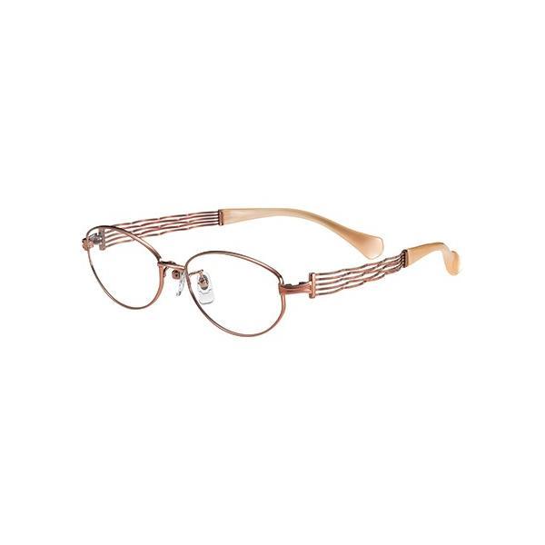 メガネ 眼鏡 めがねフレーム Line Art ラインアート シャルマンレディースメガネフレーム コーラスコレクション XL1434-RG