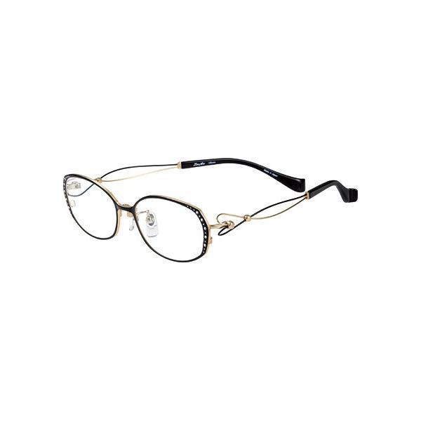 メガネ 眼鏡 めがねフレーム Line Art ラインアート シャルマンレディースメガネフレーム ドルチェコレクション XL1461-BK