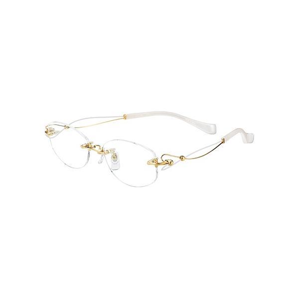 メガネ 眼鏡 めがねフレーム Line Art ラインアート シャルマンレディースメガネフレーム ドルチェコレクション XL1463-GP