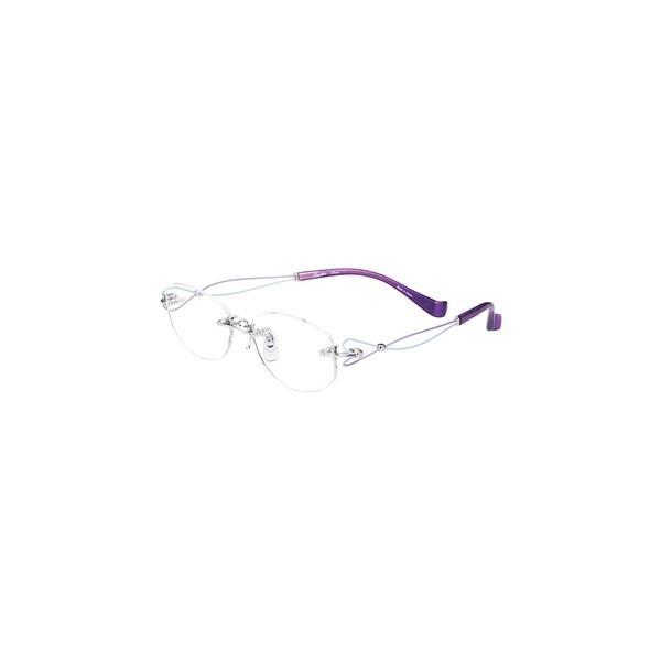 メガネ 眼鏡 めがねフレーム Line Art ラインアート シャルマンレディースメガネフレーム ドルチェコレクション XL1463-LA