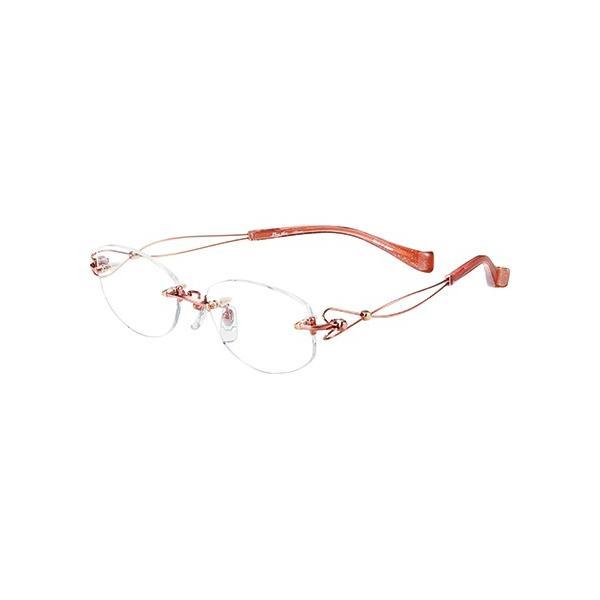 メガネ 眼鏡 めがねフレーム Line Art ラインアート シャルマンレディースメガネフレーム ドルチェコレクション XL1463-PK