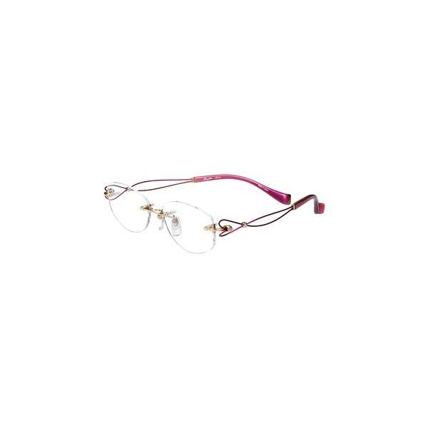 メガネ 眼鏡 めがねフレーム Line Art ラインアート シャルマンレディースメガネフレーム ドルチェコレクション XL1463-RO