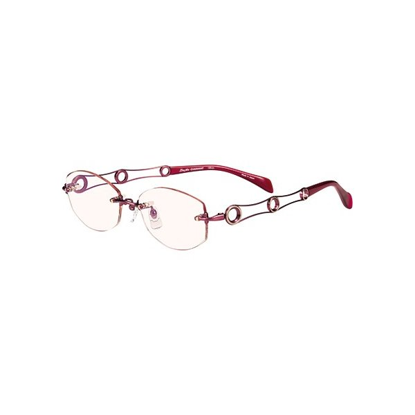 メガネ 眼鏡 めがねフレーム Line Art ラインアート シャルマンレディースメガネフレーム ワルツコレクション XL1493-PK