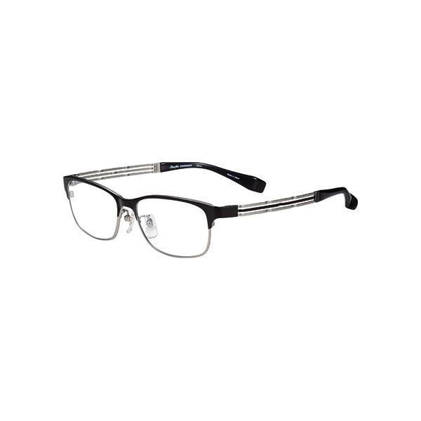 メガネ 眼鏡 めがねフレーム Line Art ラインアート シャルマンメンズメガネフレーム フォルテコレクション XL1496-BK