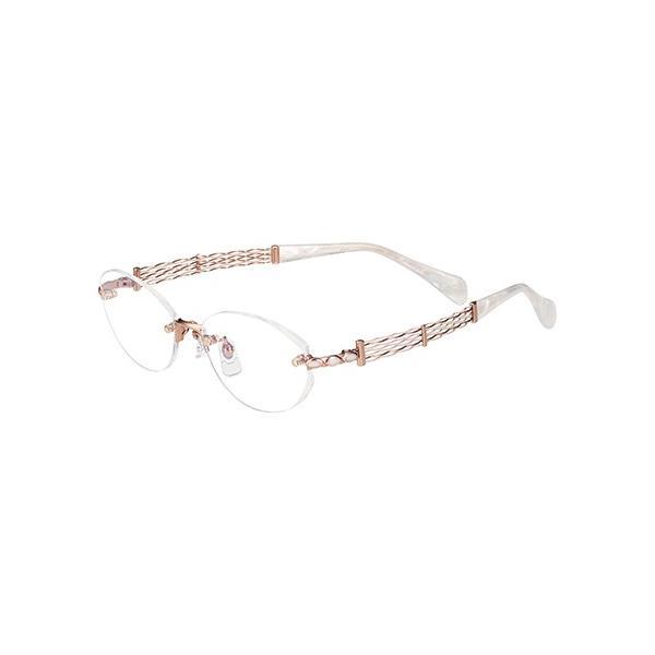 メガネ 眼鏡 めがねフレーム Line Art ラインアート シャルマンレディースメガネフレーム オペラコレクション XL1499-RG