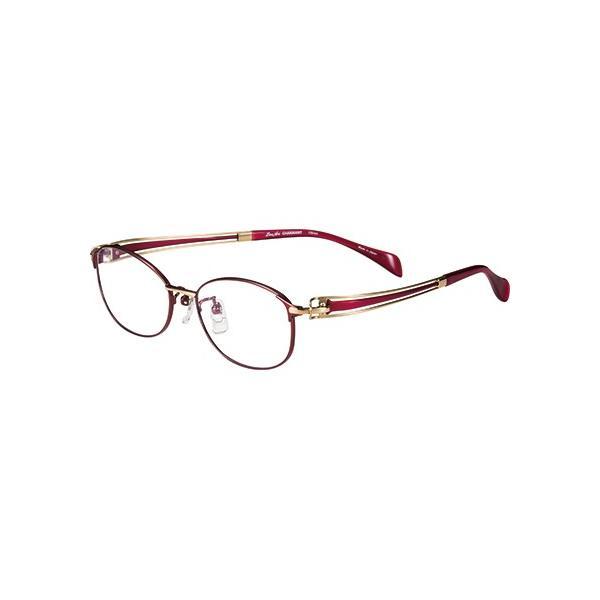 メガネ 眼鏡 めがねフレーム Line Art ラインアート シャルマンレディースメガネフレーム ヴィヴァーチェコレクション XL1600-RE