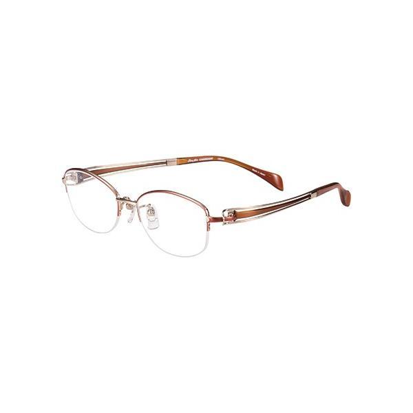 メガネ 眼鏡 めがねフレーム Line Art ラインアート シャルマンレディースメガネフレーム ヴィヴァーチェコレクション XL1601-OR