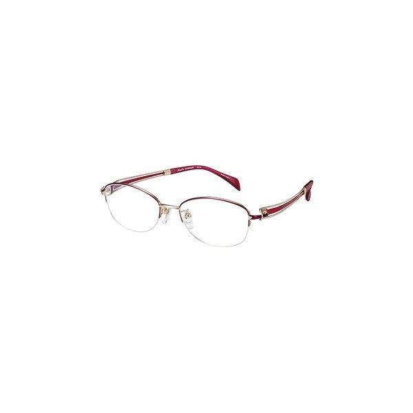 メガネ 眼鏡 めがねフレーム Line Art ラインアート シャルマンレディースメガネフレーム ヴィヴァーチェコレクション XL1601-RE