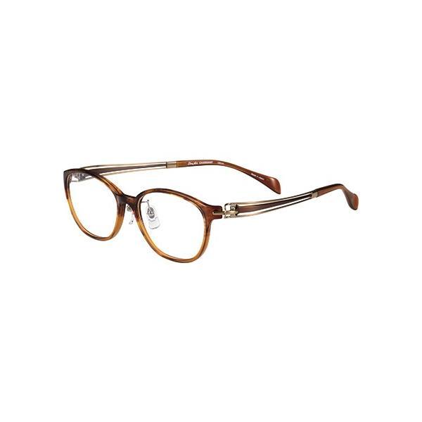 メガネ 眼鏡 めがねフレーム Line Art ラインアート シャルマンレディースメガネフレーム ヴィヴァーチェコレクション XL1604-BR
