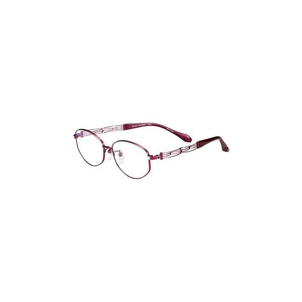 メガネ 眼鏡 めがねフレーム Line Art ラインアート シャルマンレディースメガネフレーム カノンコレクション XL1608-RO